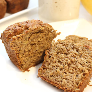 1-Bowl > Mix > Bake! Banana Sourdough Seed Bread recipe - Vegan | Gluten-Free | Allergen-Friendly