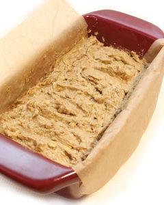 1-Bowl > Mix > Bake! Banana Sourdough Seed Bread recipe, vegan, gluten-free, and completely allergen-friendly.
