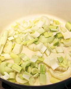 Vegetable Leek Soup - freshsireal.com