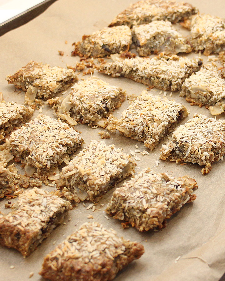 >> Must try Coconut Banana Seed Bars recipe! 1-Bowl > Mix > Bake - Ready in less than 45 minutes. Gluten-Free | Allergen-Friendly | Vegan | Grain-Free #freshisreal #healthytreats