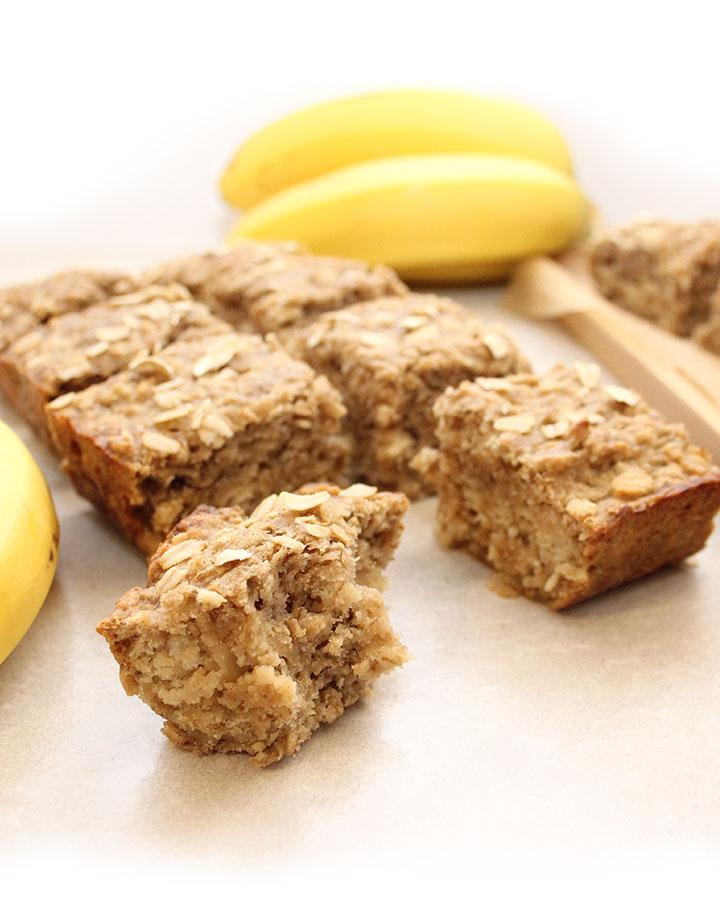 Fresh Sourdough Starter Banana Bread. This quick bread makes 16 servings. Gluten-Free | Vegan | Allergen-Friendly freshisreal.com