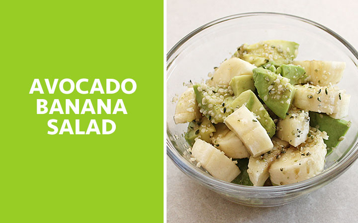 Avocado Banana Salad