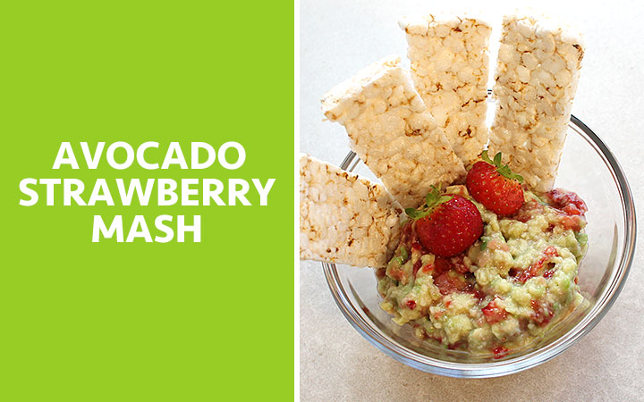 Avocado Strawberry Mash