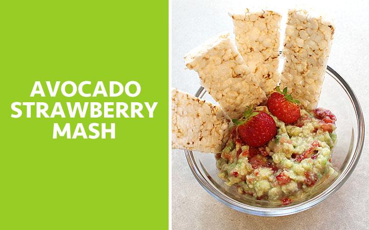 Avocado Strawberry Mash