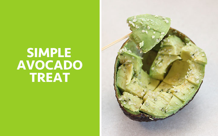 Simple Avocado Treat