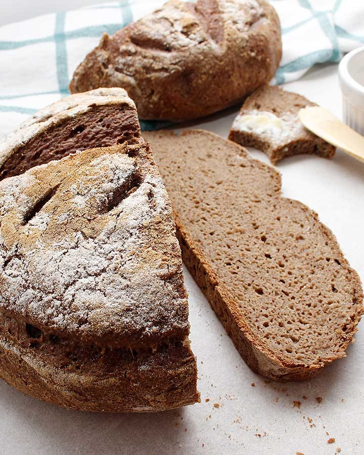 Beautiful and nutritious allergen-friendly grain-free bread