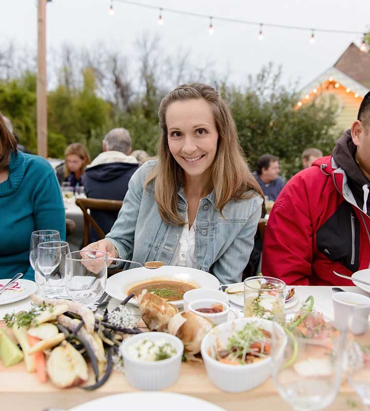Events at Strathmere in Ottawa, Ontario - Annual Harvest Supper with Chantal Secours