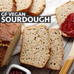 A slice of gluten-free sourdough bread. freshisreal.com