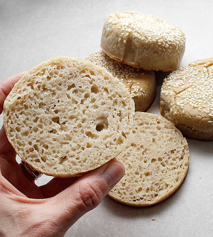 A gluten-free, vegan version of Japanese Milk Bread with some Tangzhong (roux). freshisreal.com