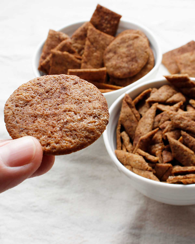 Crispy sweet GF sourdough cookie