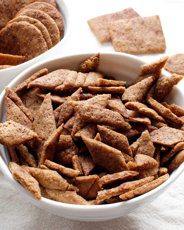 Crispy homemade GF sourdough cereal