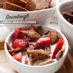 Sourdough Cereal Snack. Gluten-Free, Vegan and Allergen-Friendly Homemade Cereal.
