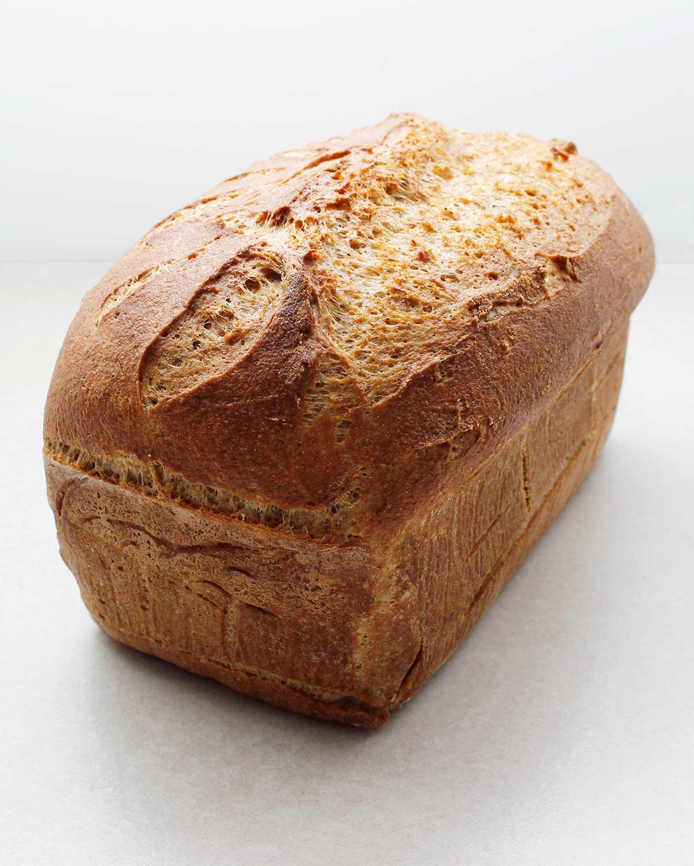 Tall gluten-free vegan wild yeast bread