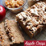 picture of sliced apple crisp bread