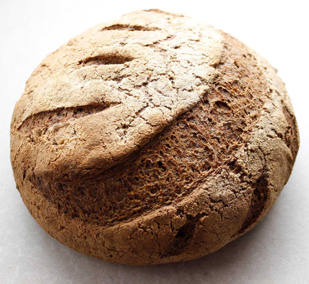 Perfect Grain-Free Vegan Sourdough Bread Boule