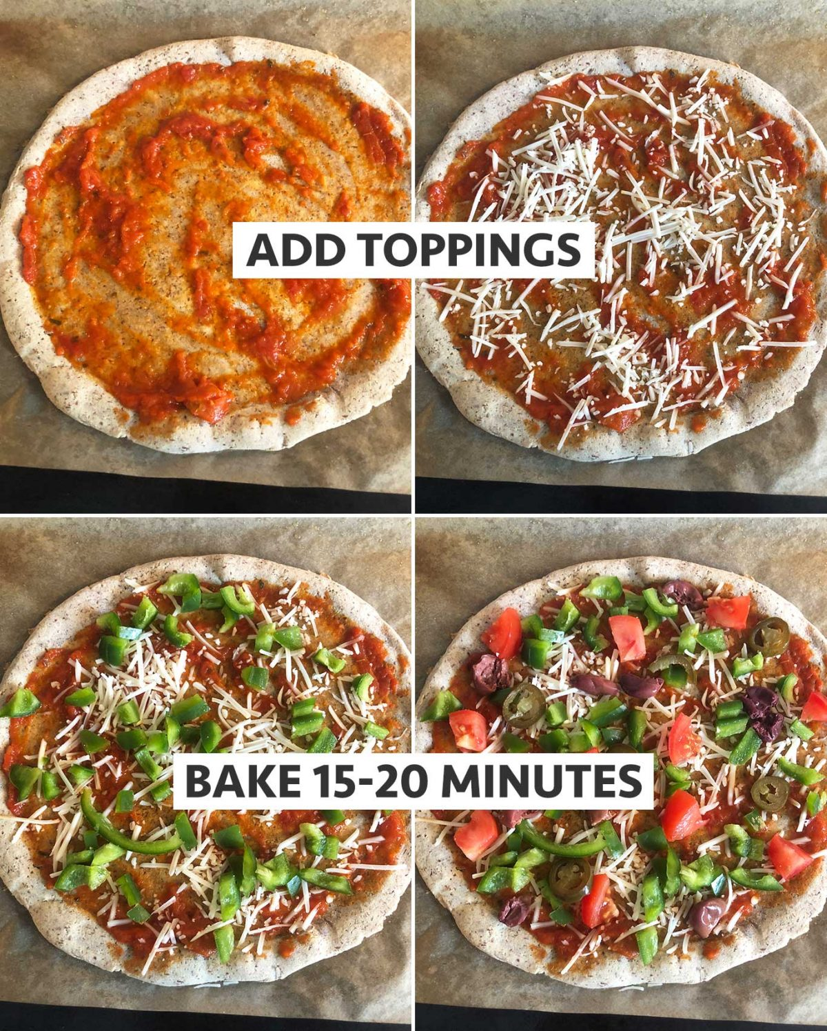 Plant-based/vegan? No problem! Add your toppings of choice!