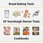 Amazon Ad linking to Gluten-Free Baking Gift & Cooking Product Ideas